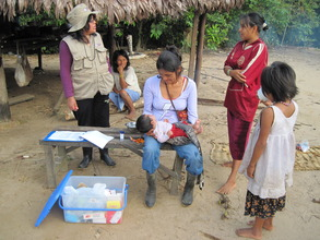 Health documentation in Tayakome May 2012.
