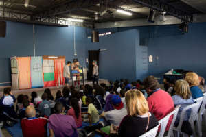 A theatre performance