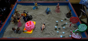 Sona's most recent sand tray