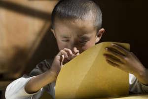 give sightless Tibetan children a chance!