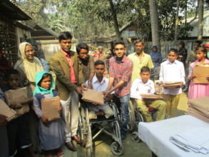 Distribute  Educational materials in to Students