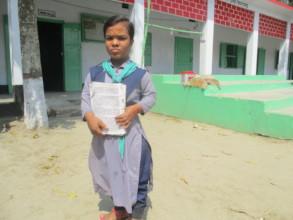 Bappi,s Standing School premises with Books