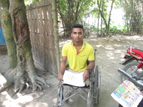 Akash is Physically Challenged adolescent boy