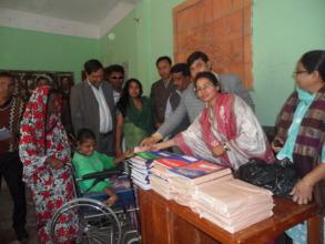 Scholarship & Education materials distribution