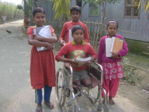 Support for Education of  100 children,Bangladesh.