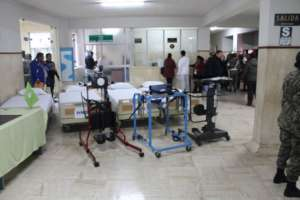 Hospital Equipment Arrives in Arequipa