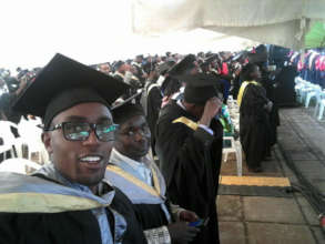 Jon at his college graduation- November 2017