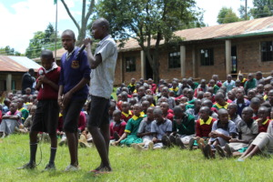 Boys pledging to protect their sisters against FGM