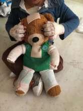 Caden's bear, just like him!