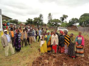 Burji IDPs arrive to work with GrowEastAfrica