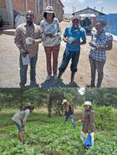 SSNK school distribution & extension visit team