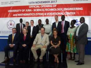 First STEM center in South Sudan opens!