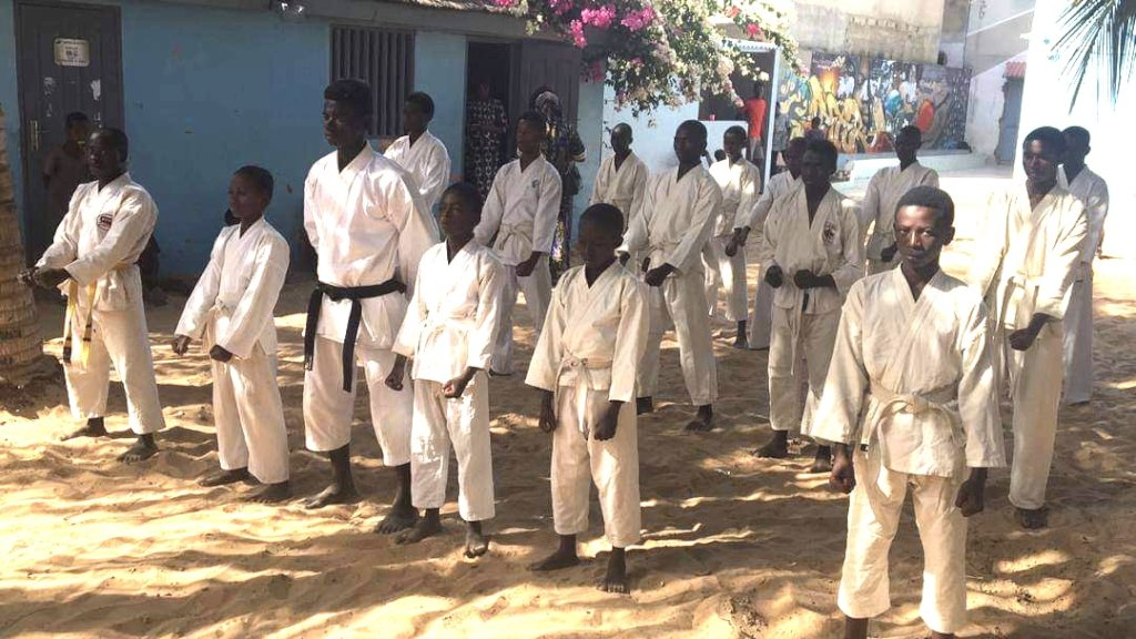 Karate Can Kick Hopelessness