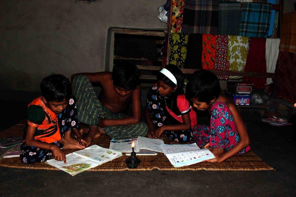 Solar Lamp for Children Education in Bangladesh