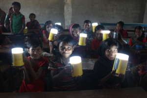 Solar Lamp for Students Education in Bangladesh