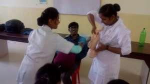 Staff Nurses during the Training