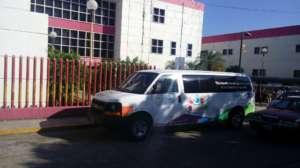 Van in Hospital