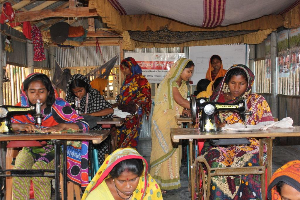 Empowering rural Women through Sewing Training