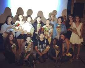 Nuevas Novelas youth at 2017 summer film premiere!
