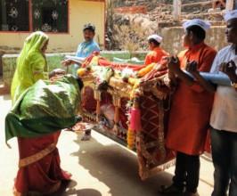 Villagers worshiped Pangolin as God on Khawlotsav