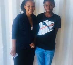 Ayola and his mother Prench