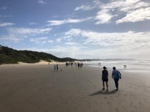 The beautiful Chintsa beach, South Africa.