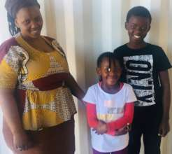 Lizalise, his other Nomsamo and sister Minentle