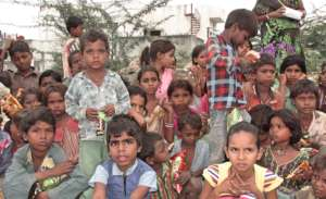 A Hope; Children's Innocent Smile !!