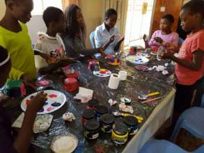 Crafts in the girls home