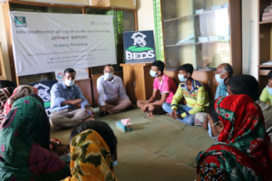 Training among livestock supported beneficiaries