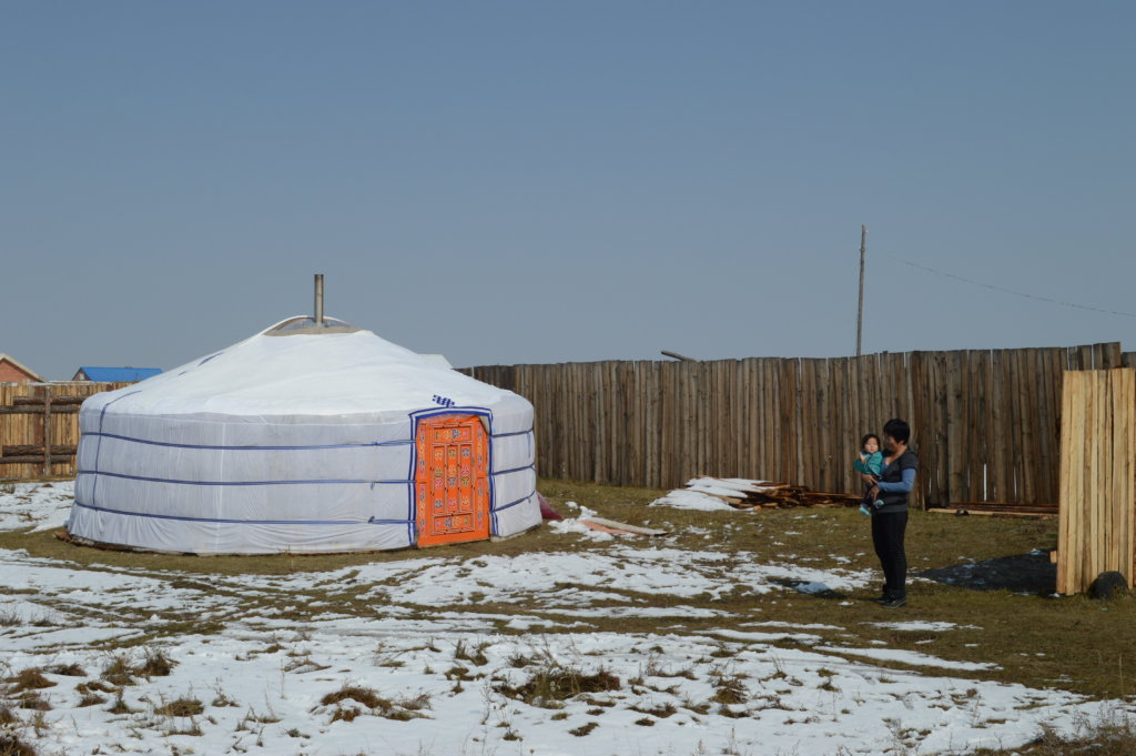 A Dream Home, GER for Mongolian Needy Children