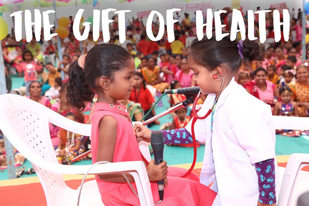 Health Camps for Children in Rural India