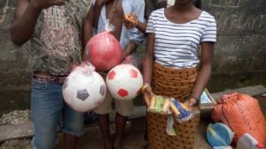 Juveniles recieve donations from AdvocAid