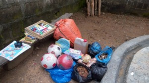 Donations to Bo Remand Home