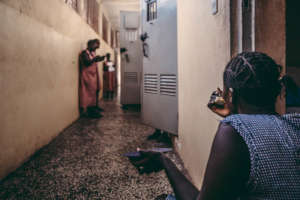 Inside the Freetown Female Correctional Centre