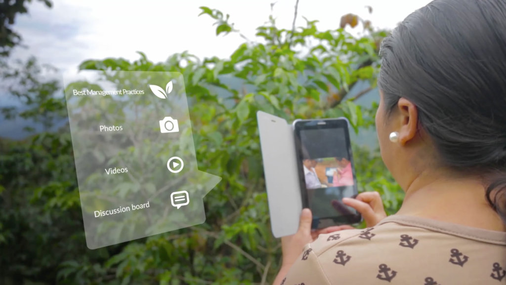 An App for That: Scaling up Sustainable Farming