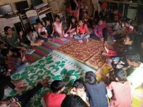 Children's discussion on International Women's Day