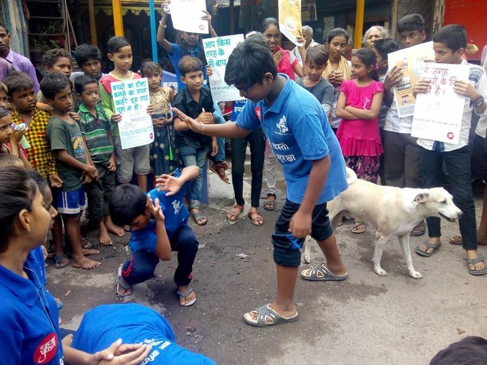 Transform childhoods of 500 slum children in India