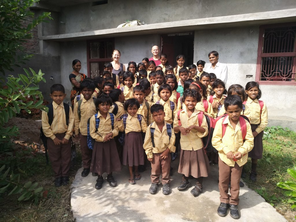 Educate Forty Village Children in Bodhgaya, India