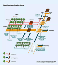How log laundering works