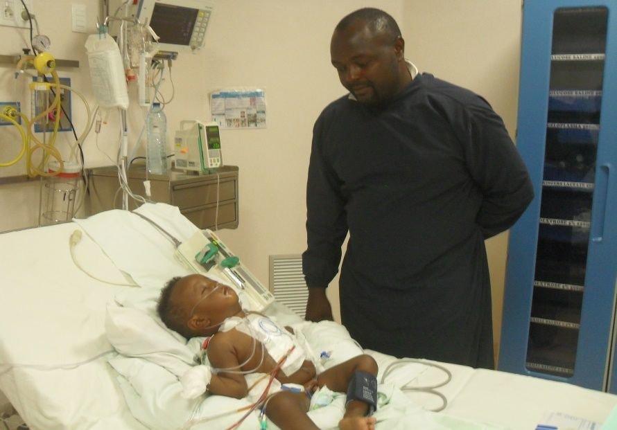 Cardiac Surgery for 4 African Children