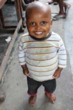 Orphaned child