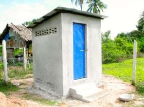 A pre-school toilet