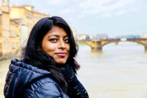AUW Student Aurona Studying in Italy