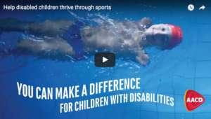 Help disabled children thrive through sports