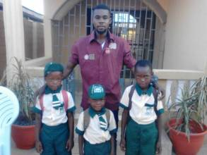 Social Worker visited the Emmanuels at school