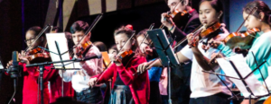 String Students Shine at ETM-LA's Gala