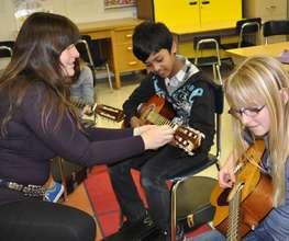 ETM-LA Guitar Students