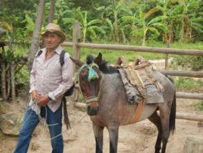 Man With Burro