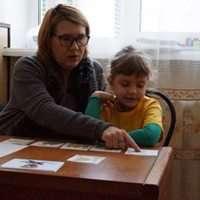 Nastya tells a fairy tale